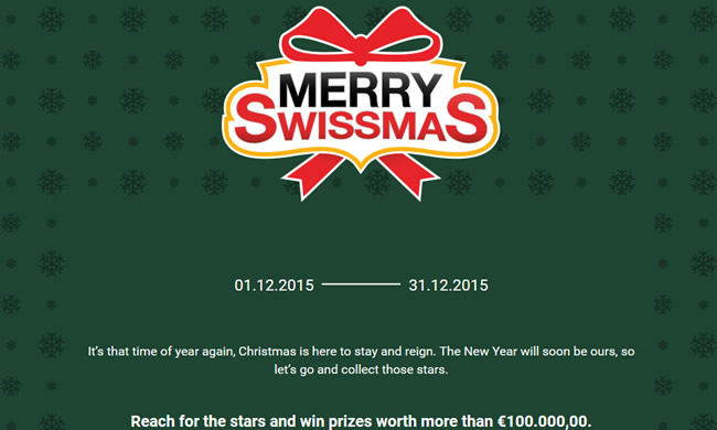BDSwiss Holiday Promotion