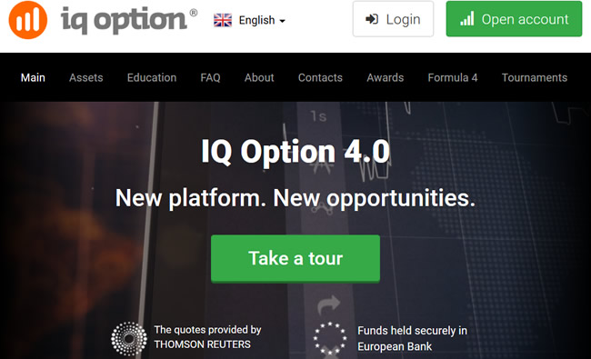 IQ Option New Platform