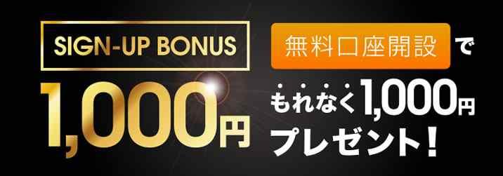 バイナリークラウドの1000円画像