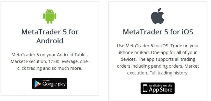 MT5には既にアプリが