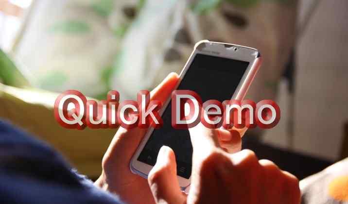 Quick Demo