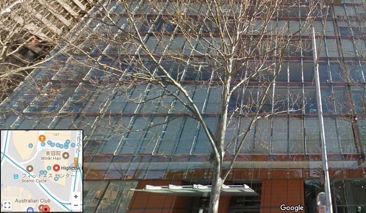 ハイローオーストラリアの会社概要 グーグル・マップ、ストリートビューで見ると