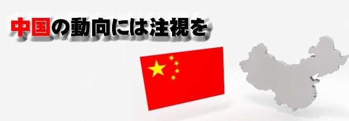 中国の動向