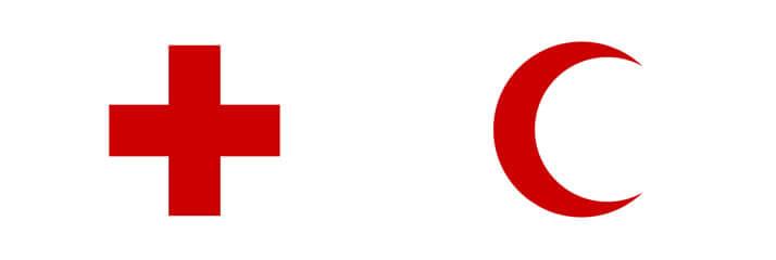 国際赤十字の旗の違い