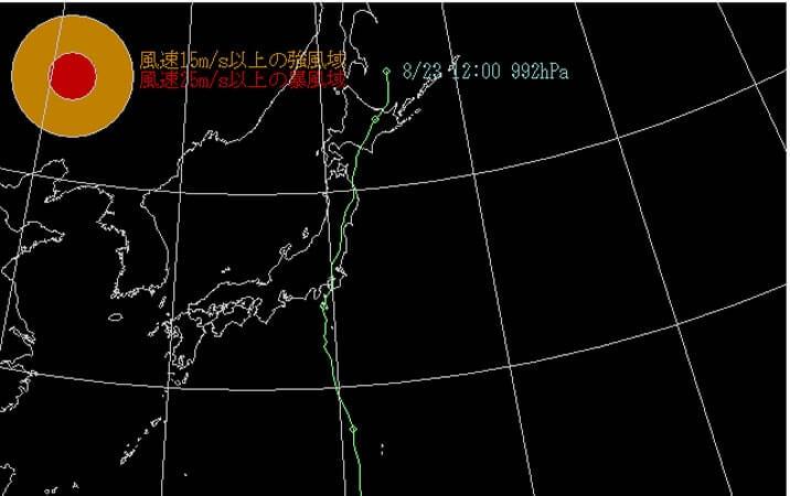 2016台風9号