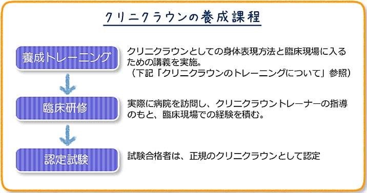 クリニクラウン説明、日本クリニクラウン協会