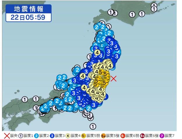 福島沖地震TOP画像