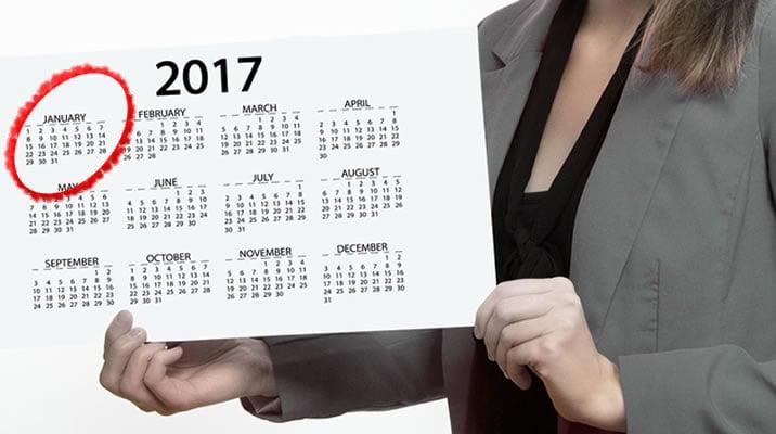 1月の経済指標予想