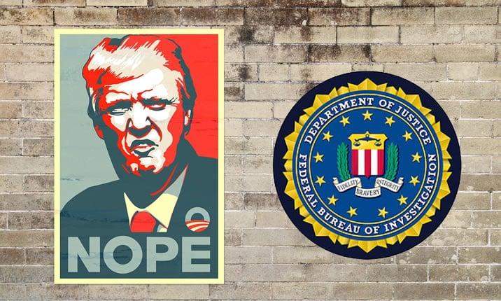 トランプ大統領とFBI