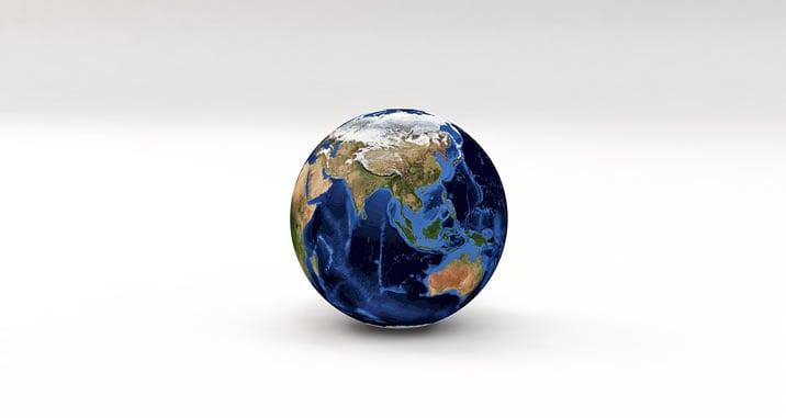 地球儀世界