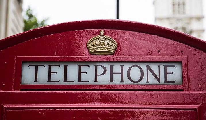 オプションビット電話