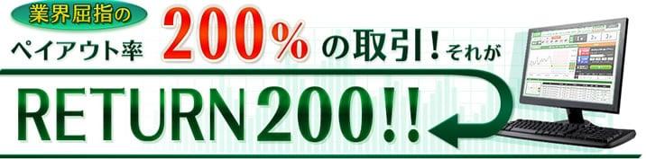 トレード200ペイアウト率