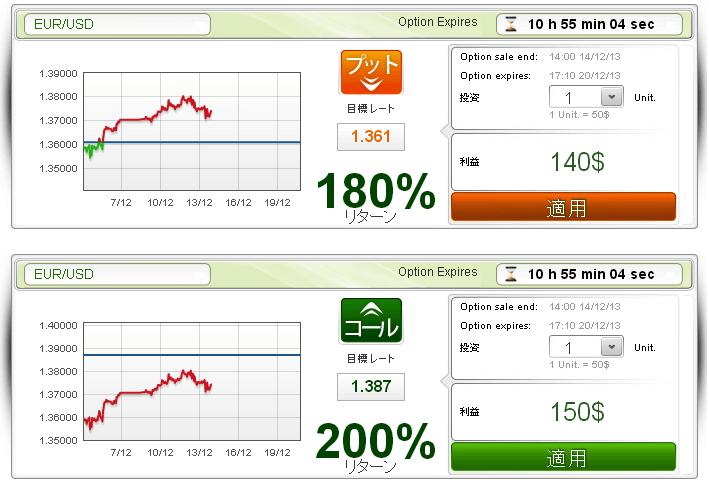 トレーダーXPの取引画面