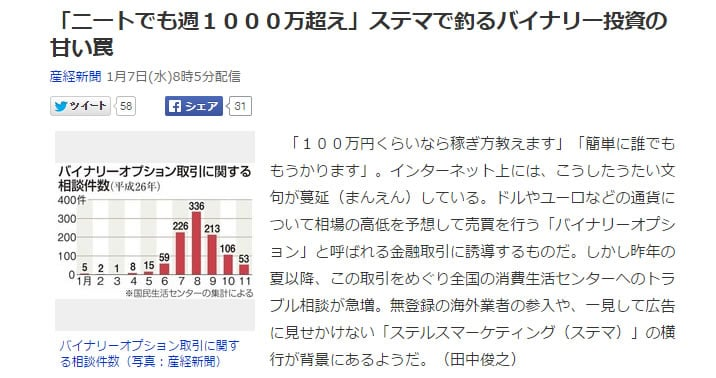 Yahoo!ニュース記事