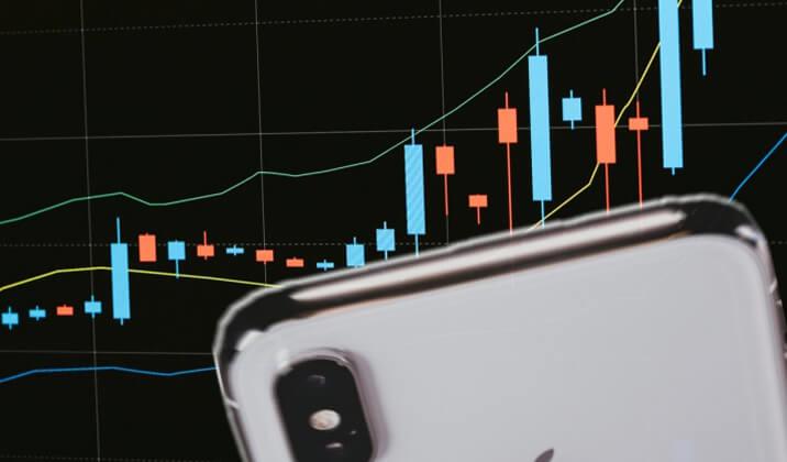 ハイローオーストラリアの取引はアイフォン(iPhone)でもできます